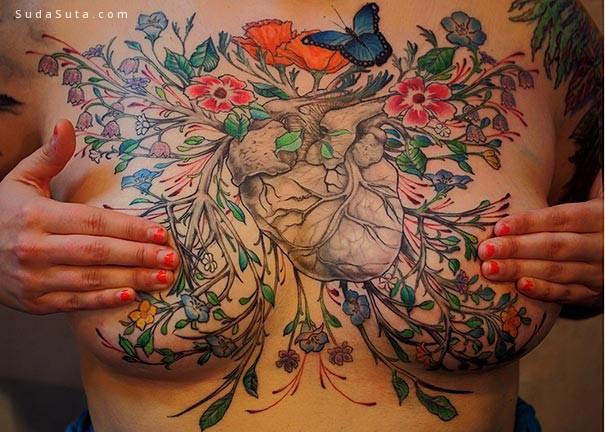 精致细腻的纹身艺术欣赏
