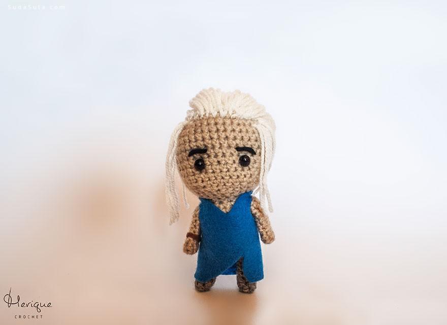 Merique Crochet 可爱的手工巫毒娃娃