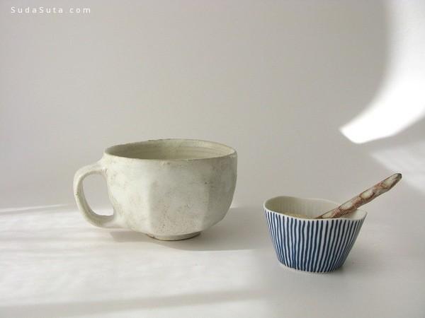 安静的陶艺小物