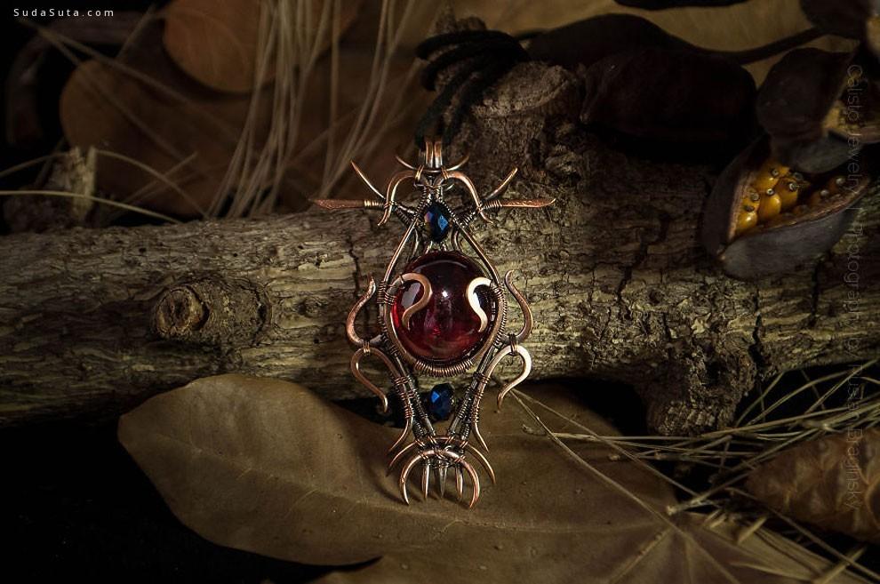 Calisto Breeze 复古迷人的首饰设计欣赏