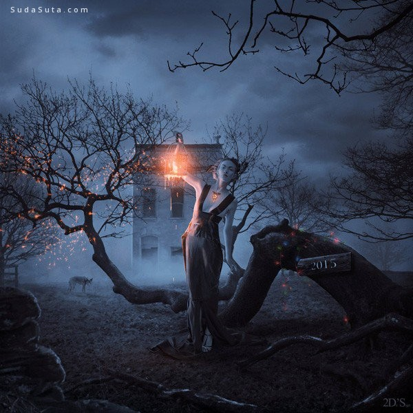 Dresew 超现实主义照片合成作品欣赏