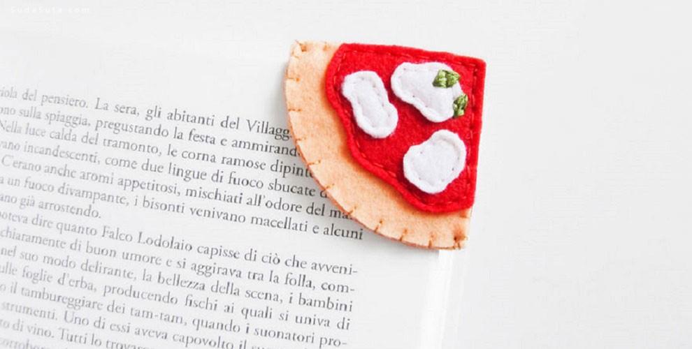 Francesca 可爱的美食书签