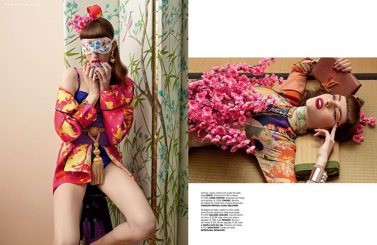 Frederico Martins 和服风情 时尚摄影欣赏