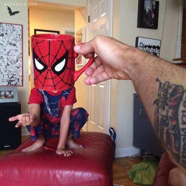 Lance Curran 家的超级英雄孩子们