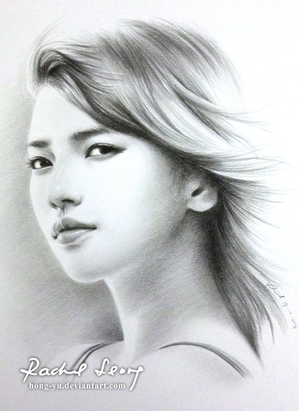 Leong Hong Yu 手绘明星肖像插画