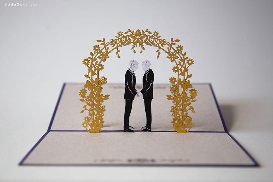 LovePopCards 温馨浪漫的卡片设计