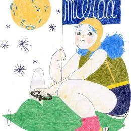 Mathilde Vangheluwe 青春与女生 手绘漫画欣赏