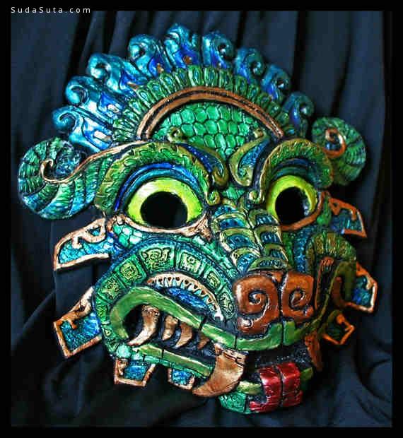 Namingway 不同寻常的面具设计