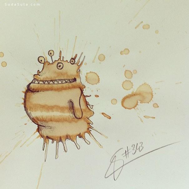 Paul Jackson 我把咖啡渍变成怪物
