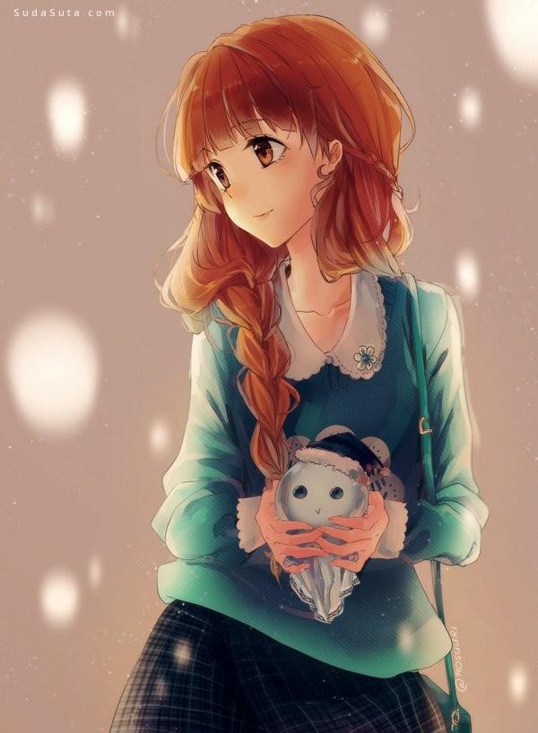Roslee 清新浪漫的少女漫画