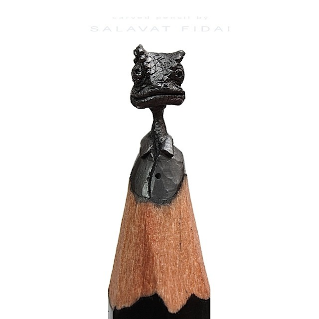 Salavat Fidai 笔尖上的艺术