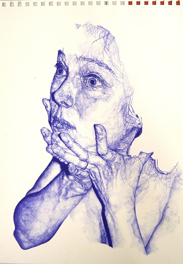 Sarah Muirhead 人像艺术插画欣赏