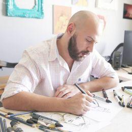 Shamekh Bluwi 创意时尚插画欣赏