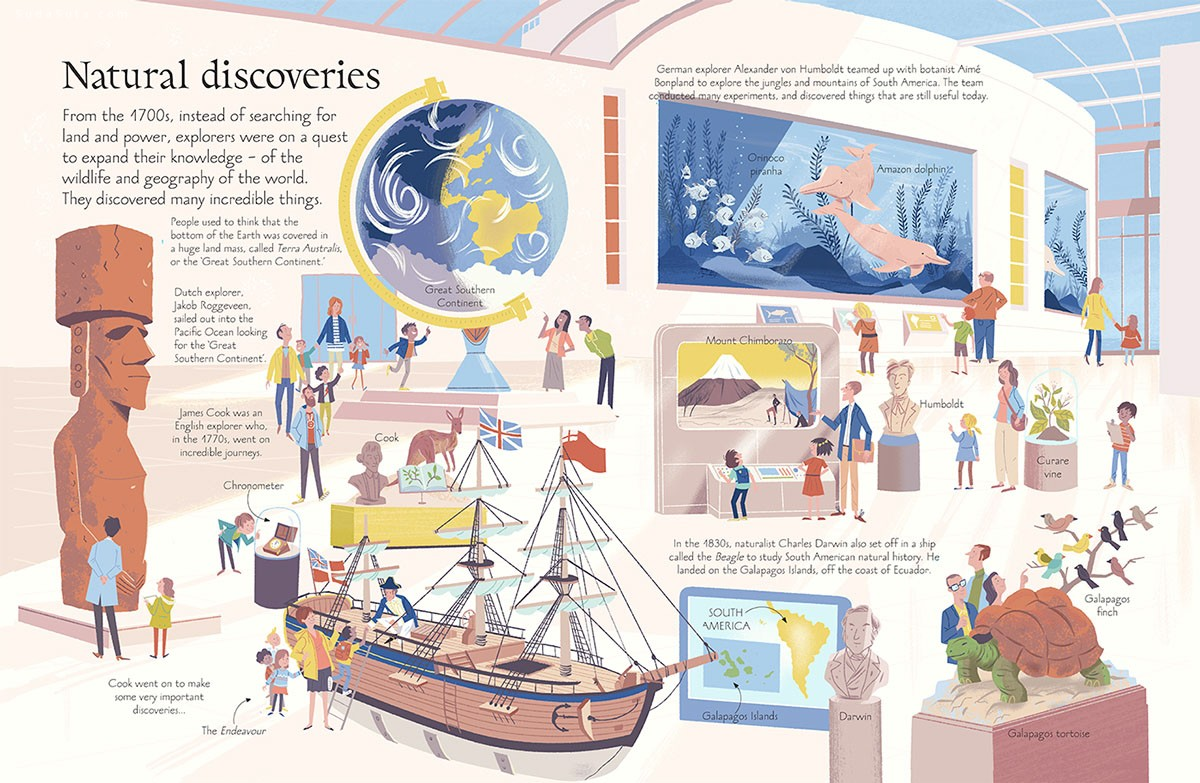 Steve Scott 书籍插画欣赏