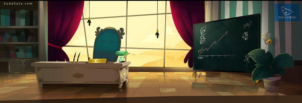 Studio Mouette 卡通漫画设计欣赏