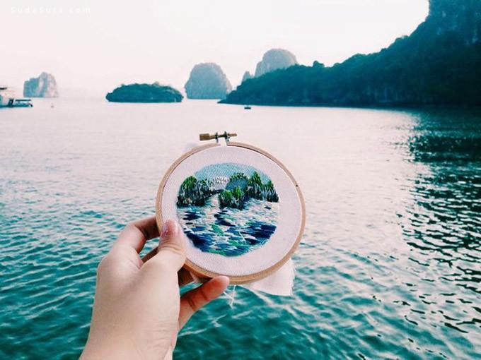 Teresa Lim 十字绣与旅行