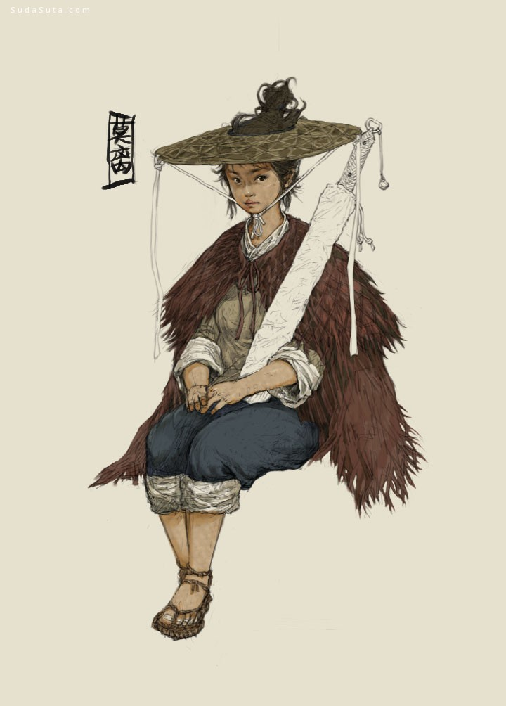 Yuankai Li 角色设计欣赏
