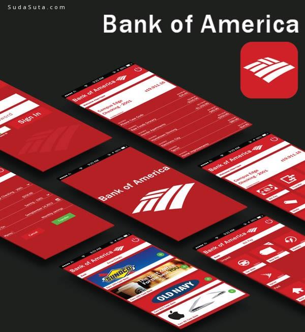 银行应用程序APP界面设计欣赏