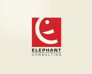 创意LOGO设计欣赏 大象