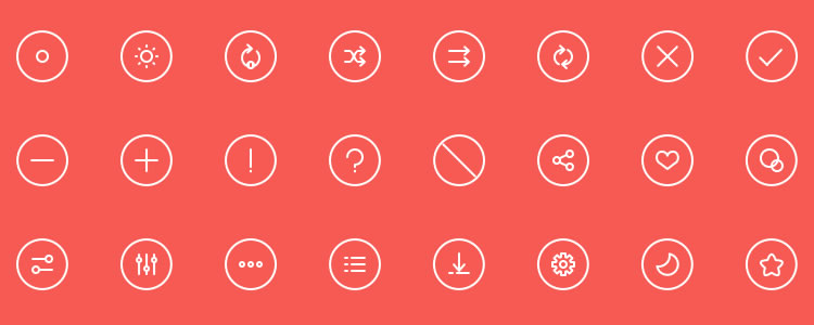 30套最新的免费图标psd/ai设计素材下载