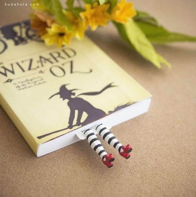 Olena 可爱的动物腿 书签设计欣赏