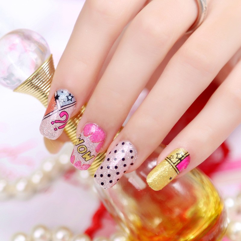 创意夏天美甲设计欣赏 花指女神范
