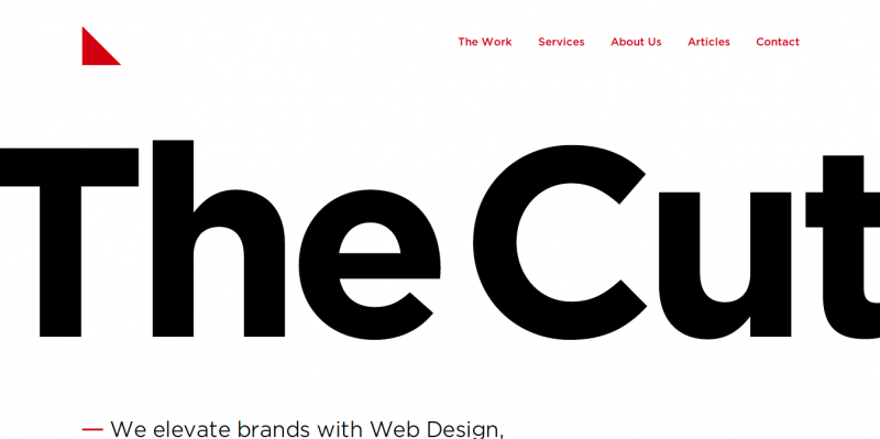 15个极简主义风格的创意网站欣赏