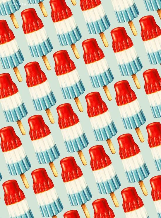 最新多设计风格的微博堆叠背景素材下载