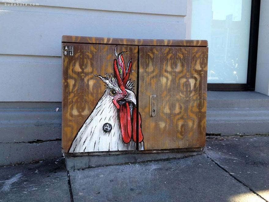 Paul Walsh 我在城市中作画