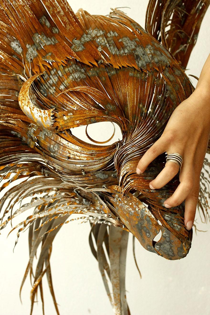 selçuk yılmaz 狰狞的狮虎头像