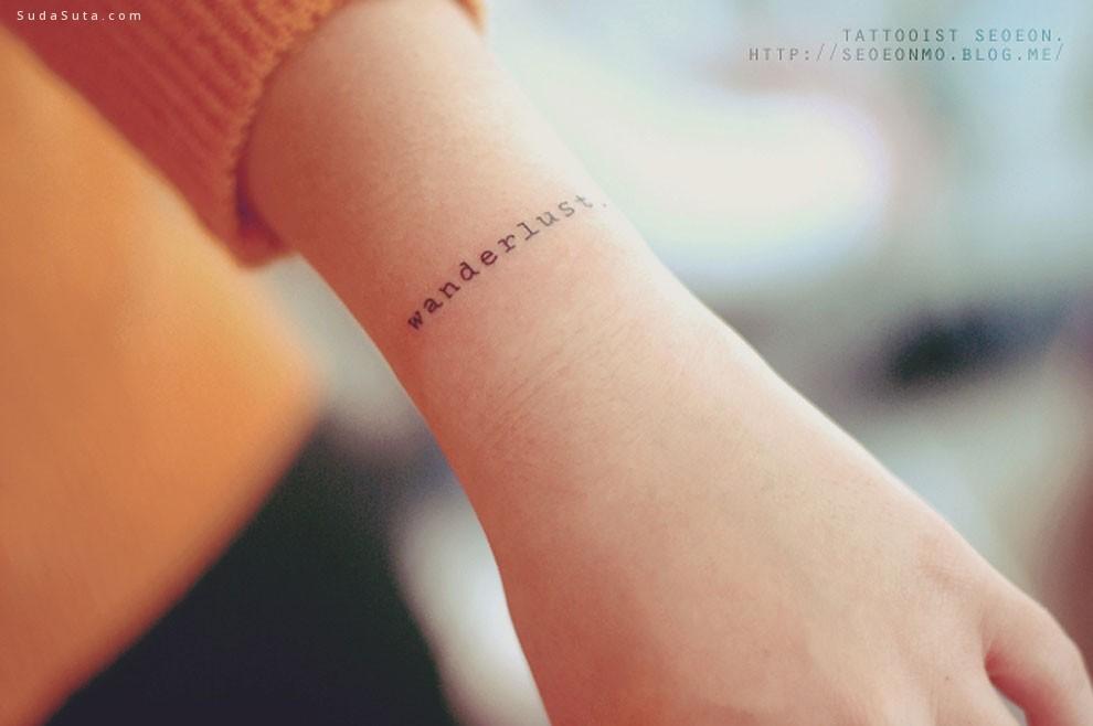 seoeontattoo 简约可爱的纹身设计