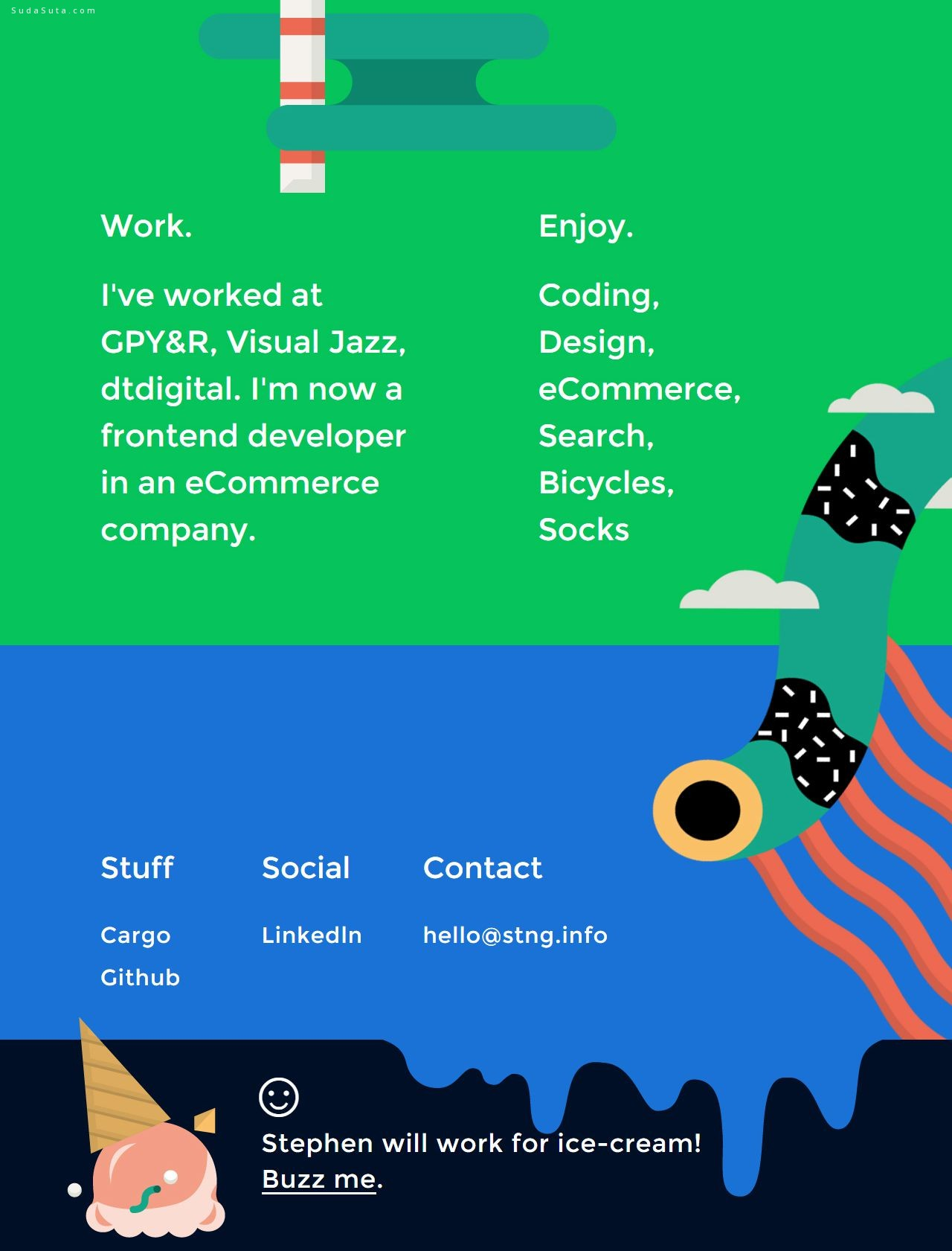 每周网页设计灵感分享 N.086