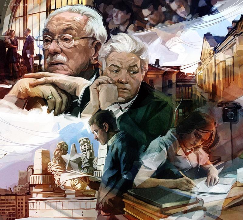 Viktor Miller-Gausa 最新杂志插画欣赏