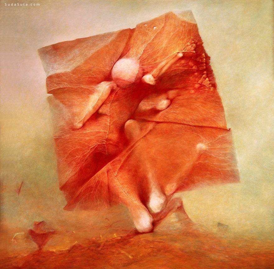 Zdzisław Beksiński 诡异恐怖的绘画艺术