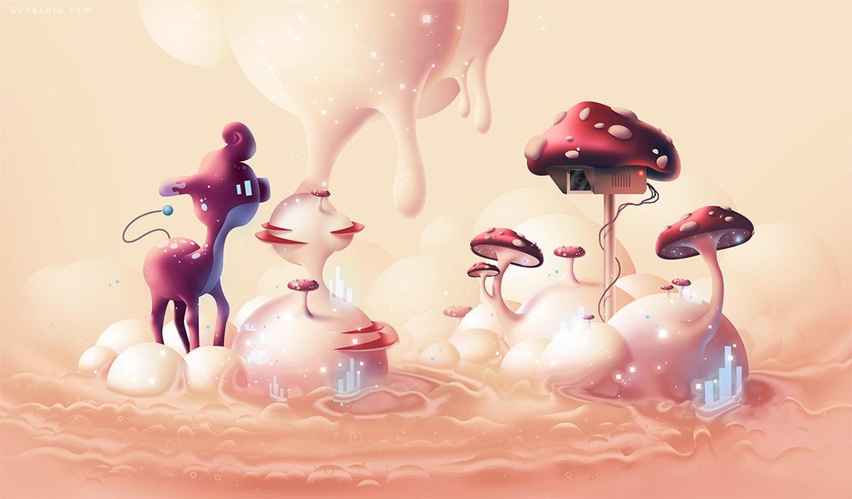 加拿大艺术家Aaron Campbell 商业插画欣赏