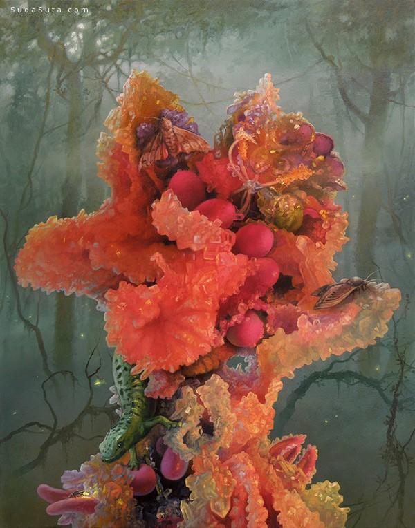 Adrian Cox 抽象的梦境