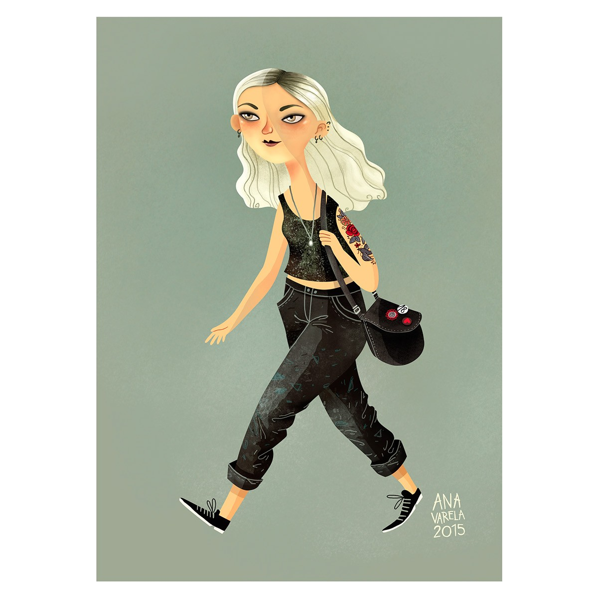 Ana Varela 卡通造型设计欣赏