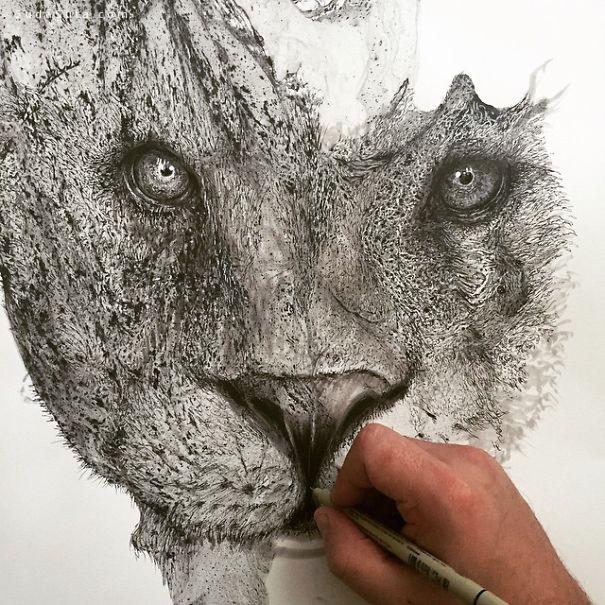 Glen Ronald 我用画笔描绘情绪