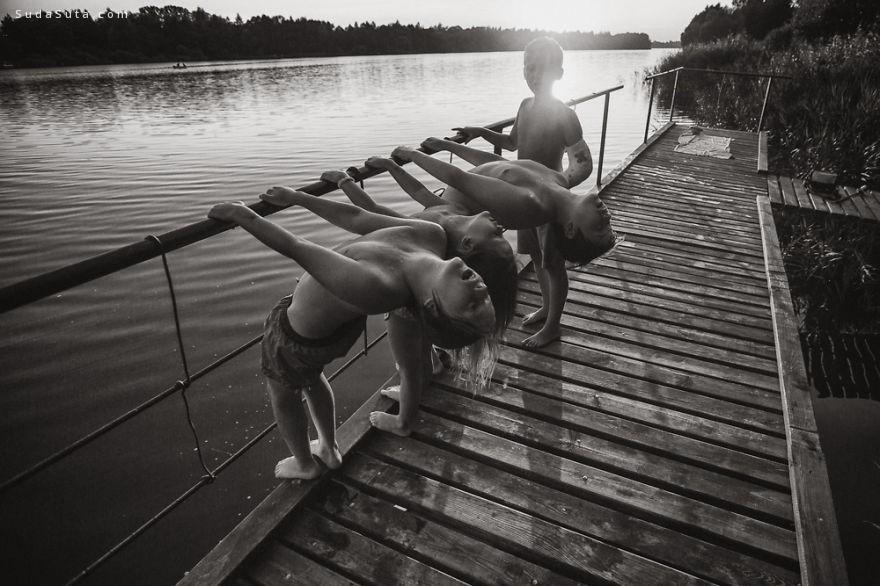 Izabela Urbaniak 黑白儿童摄影欣赏