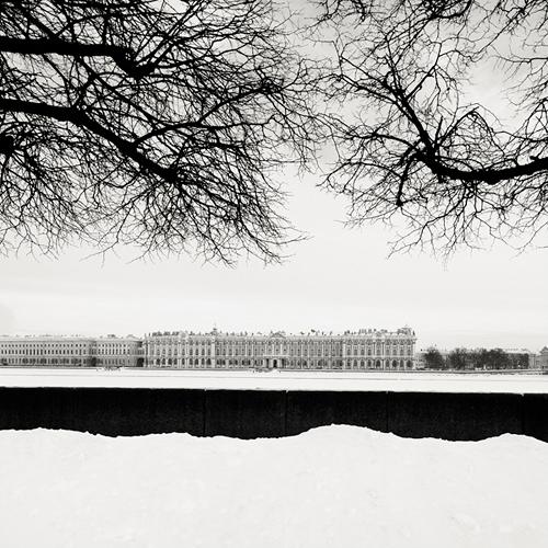 Josef Hoflehner 冬日的黑白色