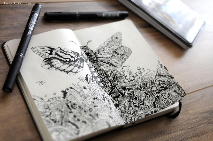 Joseph Catimbang 我用笔触描绘自然
