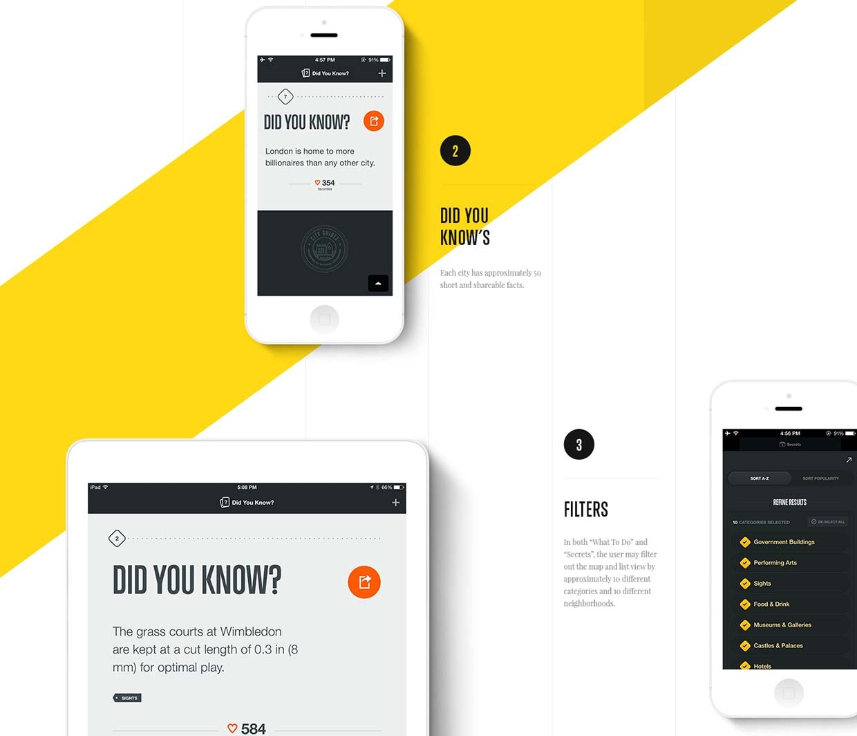 National Geographic 手机app设计欣赏