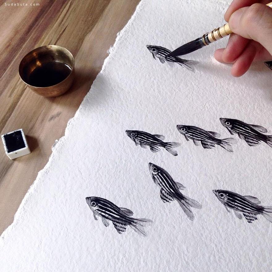 Niharika Hukku 鱼的姿态
