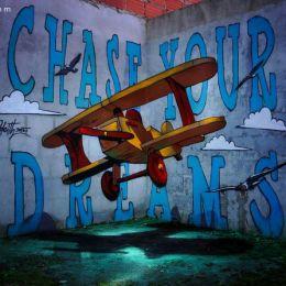 葡萄牙城市艺术家Odeith 3d城市涂鸦艺术欣赏