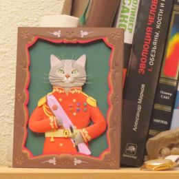 People Too 猫咪的手工肖像画