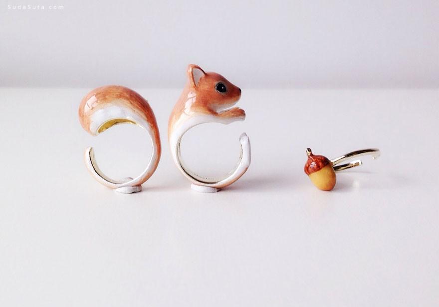 m e r r y m e 可爱的手工戒指设计