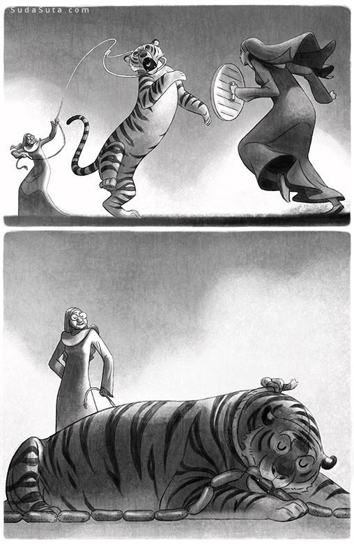 Sukanto Debnath 书籍插画欣赏