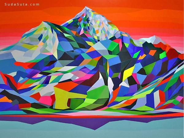 Torben Giehler 抽象艺术欣赏