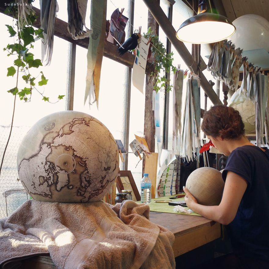Bellerby &Co. Globemakers 手工地球仪