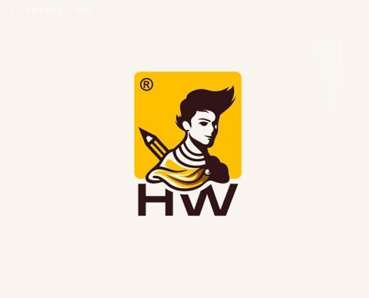 30个卡通画报标志与品牌设计